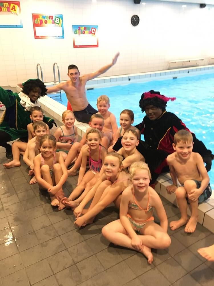 Zwempiet bij Aqua Groningen
