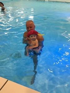 Zwarte pieten baby diplomazwemmen 2017
